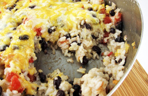 Southwest Rice and Black Beans